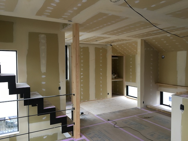 練馬区注文住宅の内装工事1