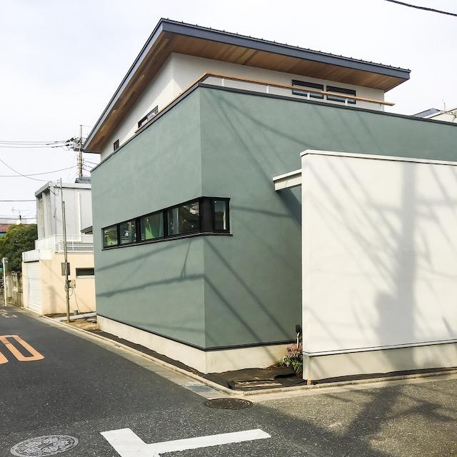 練馬区桜台の注文住宅の外観写真
