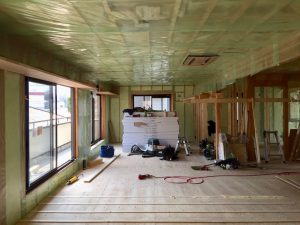 練馬区東大泉の家|断熱・気密工事の写真