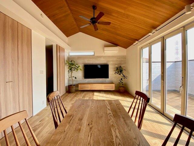 越谷市のSE構法注文住宅:Y邸 完成現場の画像