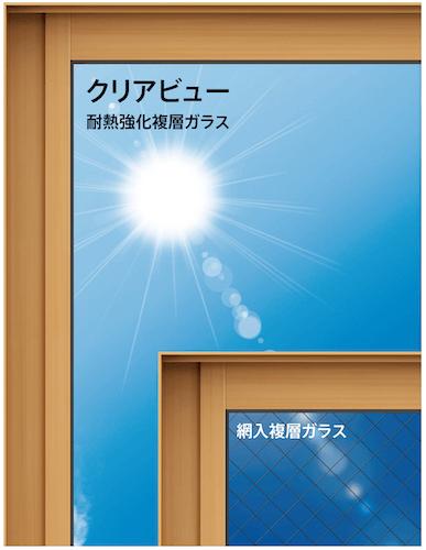 耐熱強化ガラスの説明画像